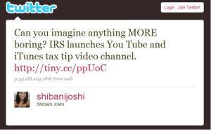 twitter IRS